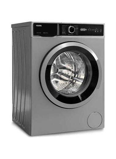 Vestel Vestel CMI 97102 G WIFI 9 Kg 1000 Devir Gri Çamaşır Makinesi Renkli